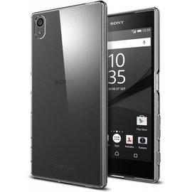 Merkloos Sony Xperia Z5 ultra dun transparant case cover hoesje naked skin