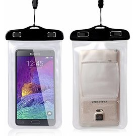 Merkloos Waterdichte telefoon hoes / waterbestendig pouch voor Xperia Z5 / Z5 premium / Z5 Mini / Z4 / Z4  / Z2 / Z3 / Z1, Huawei P9 / P8 Lite / P7 / G8 / G7