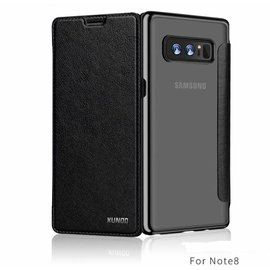 Xundd Xundd Galaxy Note 8 zwart slim Crystal Folio Flip hoesje / book case