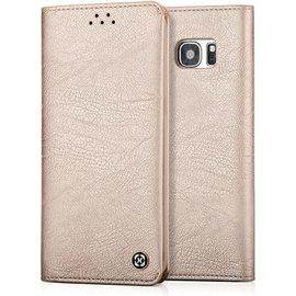 Xundd Xundd Samsung Galaxy S8 Portemnnee Hoesje soft skin leather case met  pasjes Champagne Goud