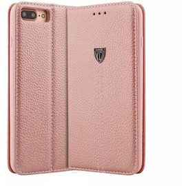 Xundd Xundd iPhone 8 / iPhone 7 (4.7 inch) Leer Wallet Boektype Hoesje Noble Series & Stand Rose Goud