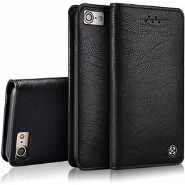 Xundd Xundd iPhone 8+ ( Plus ) / iPhone 7+ ( Plus ) 5.5 inch Ultra Soft Portemonnee Hoesje Book Case Met Pasjes Zwart