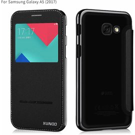 Xundd Xundd Peik Window View Flip Hoesje Samsung Galaxy A5 2017 Zwart