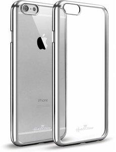 OU case iPhone 6 / 6S 4,7 Transparant Ou Case / Scratch Proof TPU Case Cover Hoesje Met Frame Zliver