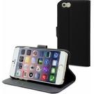 Muvit Muvit iPhone 6 + ( Plus ) Wallet Case Met 3 Kaartsloten Zwart/Donker Grijs