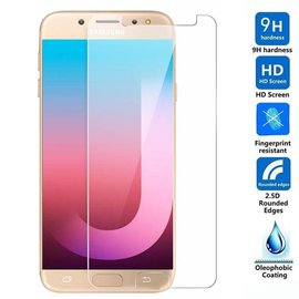 Merkloos 2Pack Samsung Galaxy J7 Max - Tempered Glass/Screen Protector 9H 0.3mm