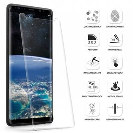 Merkloos Samsung Galaxy Note 9 Premium Curved 5D Tempered Glass screen protector Clear