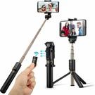 Merkloos Dispho 3 in 1 Selfie Stick met Afstandsbediening en Foldable Tripod Stand