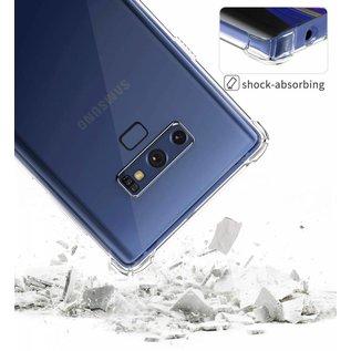 Ntech Ntech Samsung Galaxy Note 9 Transparent Anti Burst Hoesje / Shock Proof Crystal Clear TPU Case