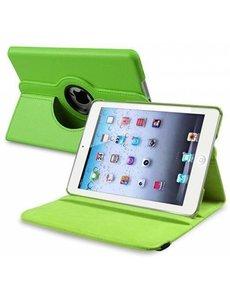 Merkloos Apple iPad Mini / Mini 2 Retina 360 graden draaibare Hoes, Cover - Groen