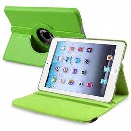 Merkloos Apple iPad Mini / Mini 2 Retina 360 graden draaibare Hoes, Cover met Multi-stand Kleur Groen