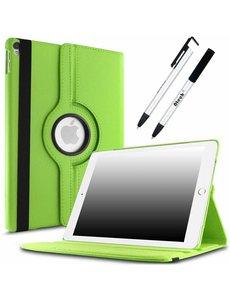 Merkloos Apple iPad Pro 10.5 (2017) hoesje 360 Rotating hoesje Case + 4 in 1 Styuls Groen