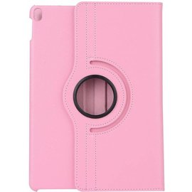 Merkloos Apple iPad Pro 10.5 (2017) hoesje   360 Rotating  Multi stand hoesje Case +  4 in 1 Styuls   Licht Roze