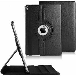 Merkloos Apple iPad Pro 9,7 inch 360 graden draaibaar case cover  - Zwart