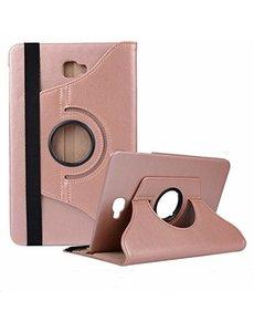 Merkloos Samsung Galaxy Tab A 7 inch SM T280 Tablet hoesje met 360? draaistand Rose Goud