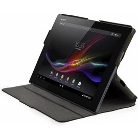 Muvit Muvit MFX Sony Xperia Tablet Z iFlip n Stand Case Black (SEFNS0001)