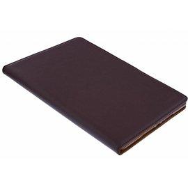 Ntech Ntech Premium Luxe Hoes voor iPad 2017  Folio Cover hoesje Bruin