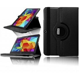 Ntech Ntech Samsung Galaxy Tab 4 10.1 T530 / T533 / T535 Tablet Case met 360ᄚ draaistand cover hoes kleur Zwart