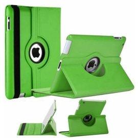 Merkloos iPad 2 / 3 / 4 Case 360 graden draaibare beschermhoes cover kleur Groen