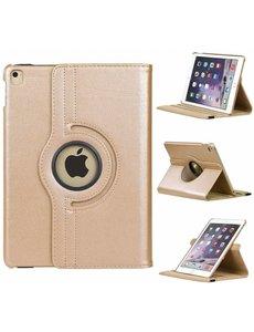 Merkloos iPad Air Rotatie hoesje met stand Champagne Goud