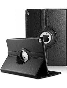 Merkloos iPad Pro 9.7 inch Case met 360? draaistand cover hoesje - Zwart