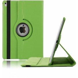 Ntech Ntech nieuwe iPad 9.7 (2017)  Hoes   Case   Cover   360ᄚ draaibaar Multi stand   Groen