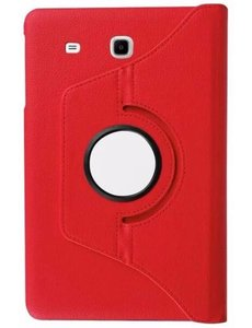 Merkloos Samsung Galaxy Tab A 7.0 inch T280 / T285 Case met 360? draaistand cover hoesje - Rood
