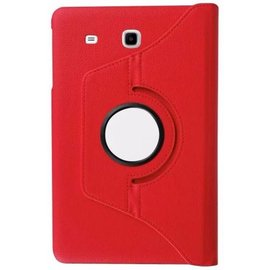 Merkloos Samsung Galaxy Tab A 7.0 inch T280 / T285 Case met 360ᄚ draaistand cover hoesje - Rood