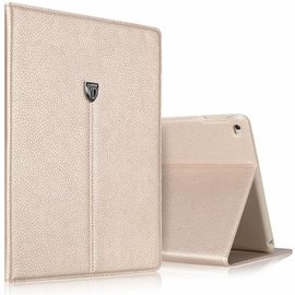 Xundd Xundd Galaxy Tab A 9.5 SM  T550 Noble series Luxe hoesje wallet case met stand Goud