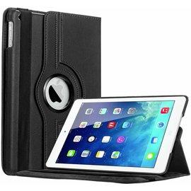 Merkloos iPad Air Case cover 360 graden draaibare hoes met Multi-stand kleur Zwart