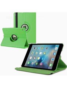 Merkloos iPad Pro 9.7 inch Case met 360? draaistand cover hoesje - Groen