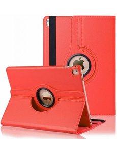 Merkloos iPad Pro 9.7 inch Case met 360? draaistand cover hoesje - Rood