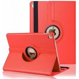 Ntech Ntech iPad Pro 9.7 inch Case met 360ᄚ draaistand cover hoes - Rood