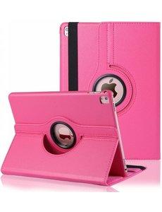 Merkloos iPad Pro 9.7 inch Case met 360? draaistand cover hoesje - Pink / Roze