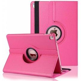 Ntech Ntech iPad Pro 9.7 inch Case met 360? draaistand cover hoes - Pink / Roze