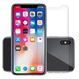 Ntech Ntech iPhone Xs MAx 2 Pack  Screen protector / Anti-Scratch Tempered Glass (0.3mm)