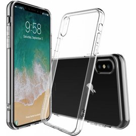Merkloos iPhone Xr Transparant lichte TPU ultra clear Hoesje