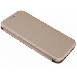 Merkloos Samsung Galaxy Note 9 Luxe Goud TPU / Kunststof Flip Cover met Magneetsluiting