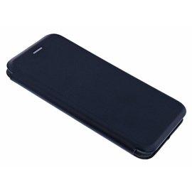 Ntech Ntech iPhone Xs Max Luxe Zwart TPU / Kunststof Flip Cover met Magneetsluiting