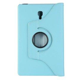 """Merkloos Samsung Galaxy Tab A 10.5"""" SM T590 / T595 2018 Blauw Tablet Hoesje met 360° draaistand"""