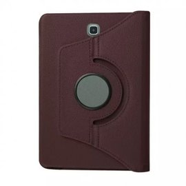 "Merkloos Samsung Galaxy Tab A 10.5"" SM T590 / T595 2018 Bruin Tablet Hoesje met 360° draaistand"