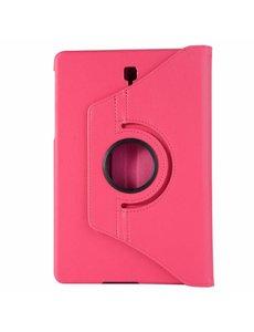 Merkloos Samsung Galaxy Tab S4 10,5 T830 / T835 Roze Tablet Hoesje met 360° draaistand