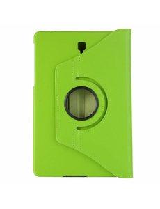 Merkloos Samsung Galaxy Tab S4 10,5 T830 / T835 Groen Tablet Hoesje met 360° draaistand