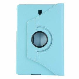Merkloos Samsung Galaxy Tab S4 10,5 T830 / T835 Blauw Tablet Hoesje met 360° draaistand