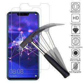 Merkloos Huawei Mate 20 Lite Glazen Screen protector Tempered Glass 2.5D 9H (0.3mm)