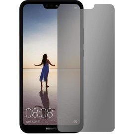 Merkloos Privacy Glazen Screen protector Huawei P20 lite / Anti Spy Tempered Glass