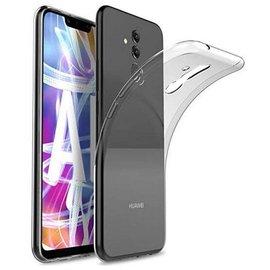 Merkloos Huawei Mate 20 Lite ultra thin tansparant TPU hoes clear