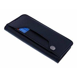 Ntech Ntech  iPhone Xs Max Flip Cover met Magneetsluiting en Uitschuifbare Kaartenhouder Zwart