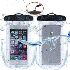 Merkloos Universeel Waterdichte Floating Case / Waterbestendig Pouch voor iPhone Xr