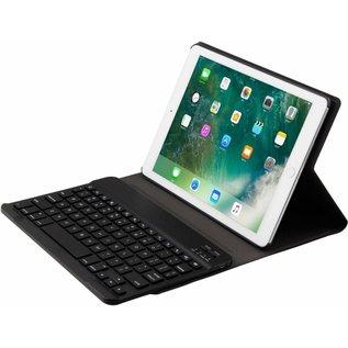Ntech Zwart Magnetically Detachable / Wireless Bluetooth Keyboard hoes met toetsenbord voor Apple iPad (2018) / Air 1 / 2 / iPad Pro 9.7 inch / iPad 2017